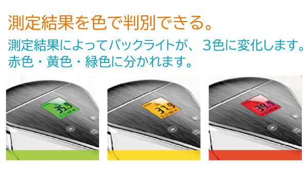 3 Color Backlight 温度計・除菌ディスペンサー500ml